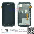 Original guarantee For  HTC Desire X T328e LCD disply+Touch screen Panel Digitizer with frame gold or grey color+best quality