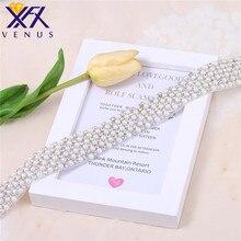 XFX 10 шт бисерные красивые свадебные Стразы ленты для свадьбы девичник вечерние пояс пришить на cyrstal аппликация для свадебных платьев