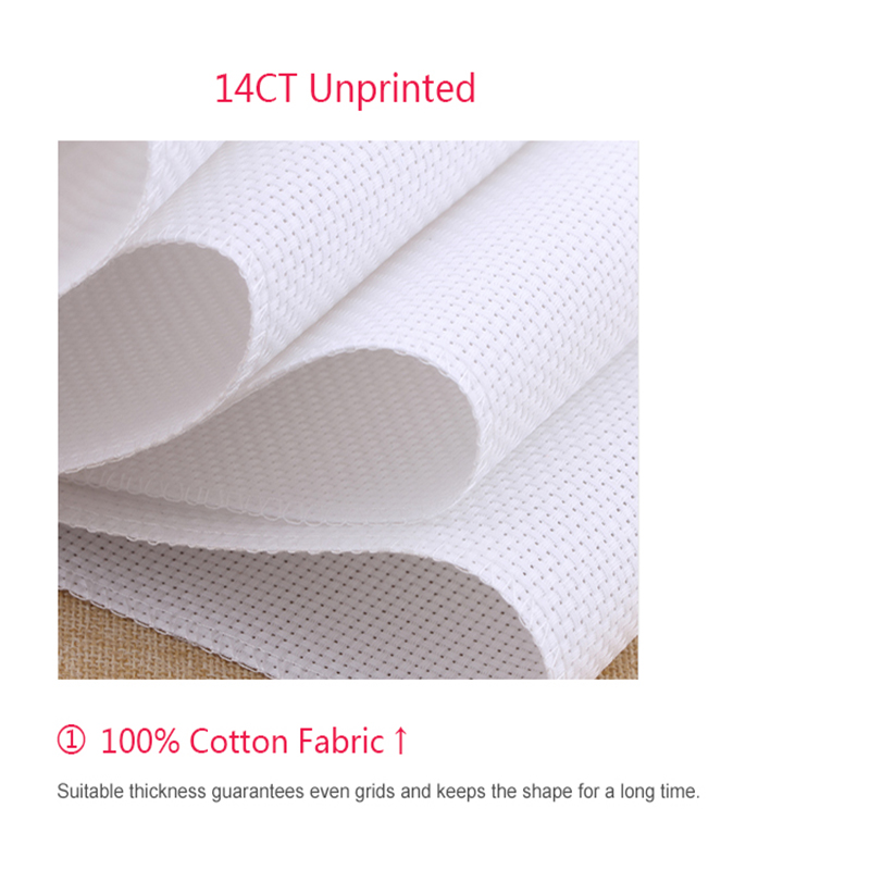 JoySunday cross stitch kits needlework Fathers love - comb braids Sleeping 14CT 11CT cotton painting gift art wholesale deal