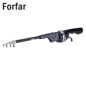 Folding Mini Travel Telescopic Portable Fishing Rod Foldable Fish Pole 131cm
