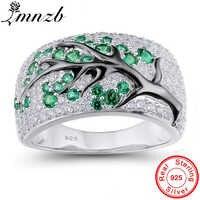 90% OFF! Neue Mode Original 925 Sterling Silber Ring Vintage-Schmuck Wald Baum Zweig Blätter Ringe Geschenk für Frauen LRA0698