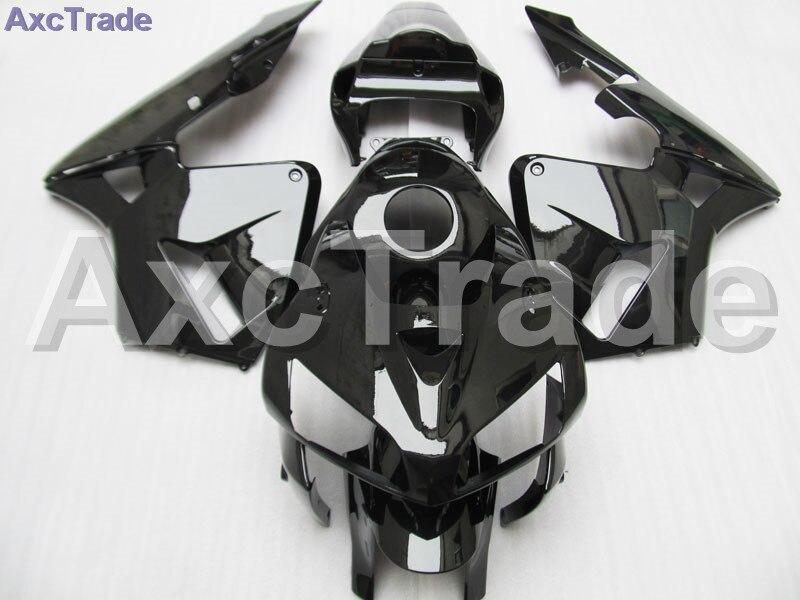 En plastique Carénage Kit Fit Pour Honda CBR600RR CBR600 CBR 600 2005 2006 05 06 F5 Carénages Set Custom Made Moto Carrosserie Noir