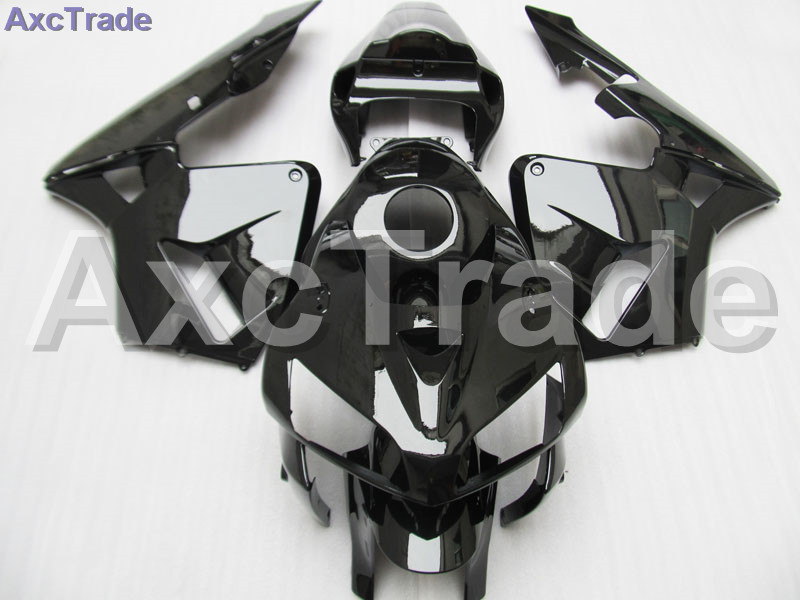 Plastic Fairing Kit Fit For Honda CBR600RR CBR600 CBR 600 2005 2006 05 06 F5 Fairings Set Custom Made Motorcycle Bodywork Black custom made motorcycle fairing kit for honda cbr600rr cbr600 cbr 600 rr 2007 2008 f5 abs fairings kits fairing kit bodywork c99
