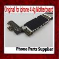 100% original y desbloqueado para iphone 4 mainboard, 16g para iphone 4 motherboard con chips, para iphone 4g motherbaord envío gratis