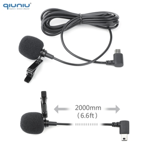 Image 4 - QIUNIU External Microphone Mic + Transparent Skeleton Housing Case for GoPro Hero 4 3+ 3 Action Camera for Go Pro Accessories