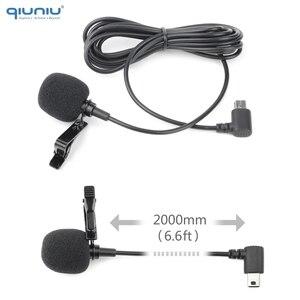 Image 4 - QIUNIU חיצוני מיקרופון מיקרופון + שקוף שלד שיכון מקרה עבור GoPro Hero 4 3 + 3 פעולה מצלמה עבור ללכת פרו אבזרים