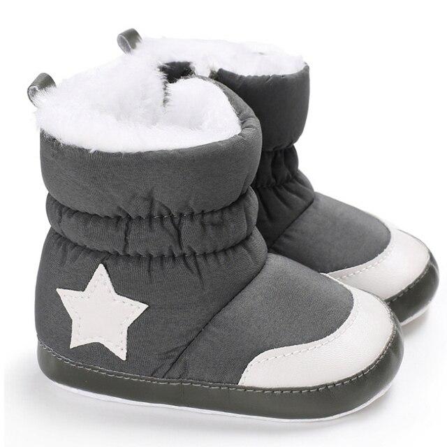 New Zip Boy Girl Baby Snow Boots Infant