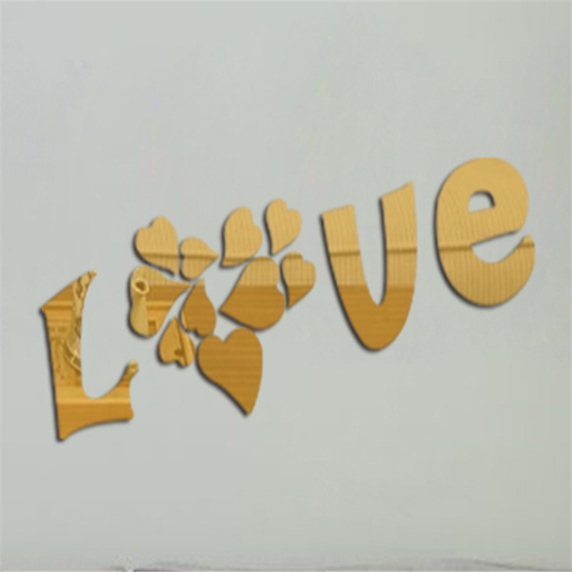 2017 New 500220mm Wedding Love Letters Home Decoration