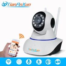 Tiananxun Беспроводной IP Камера дома безопасности сети Wi-Fi HD видеонаблюдения Smart Камера аудио-видео Ночное Видение видеонаблюдения радионяня