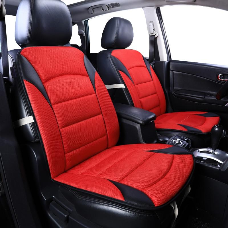 2 Front row Sandwich Universal car seat covers for Renault Kadjar Koleos Captur Megane 2 3