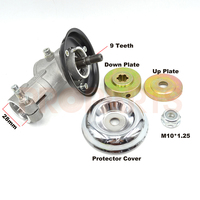 28mm 9Spline Gasoline Brush Cutter Gear Box Head Case Brush Cutter Parts Specifications