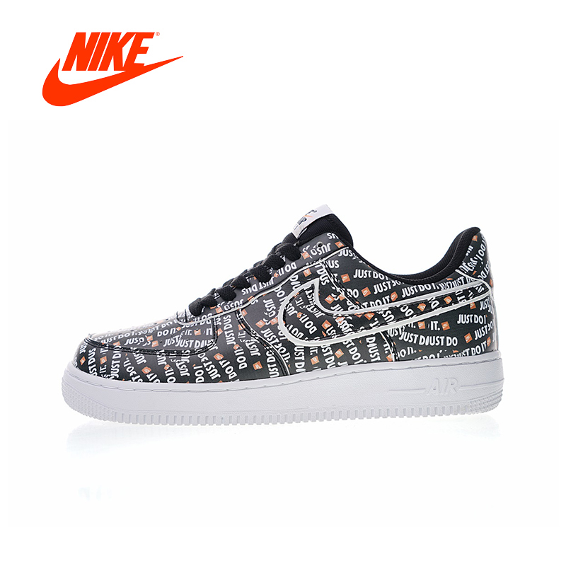 Original New Arrival Authentic Nike Air Force 1 JDI PRM Just Do It Men's Skateboarding Shoes Sport Outdoor Sneakers AO3977-001