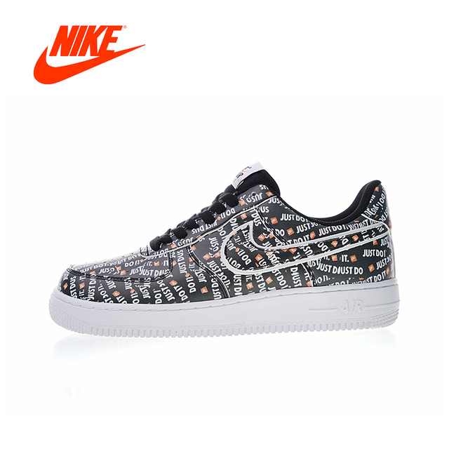 Original New Arrival Authentic Nike Air Force 1 JDI PRM Just Do It Men s  Skateboarding Shoes Sport Outdoor Sneakers AO3977-001 22f764ee291b