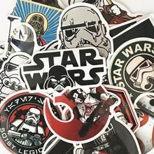 25pcs Star Wars Cartoon Sticker Cool DIY Doodle Waterproof Stickers PVC Creative Decal Toy