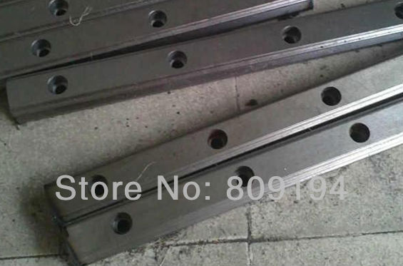 670mm  HGR15 HIWIN  linear guide rail from taiwan hiwin linear guide rail hgr15 from taiwan to 1000mm