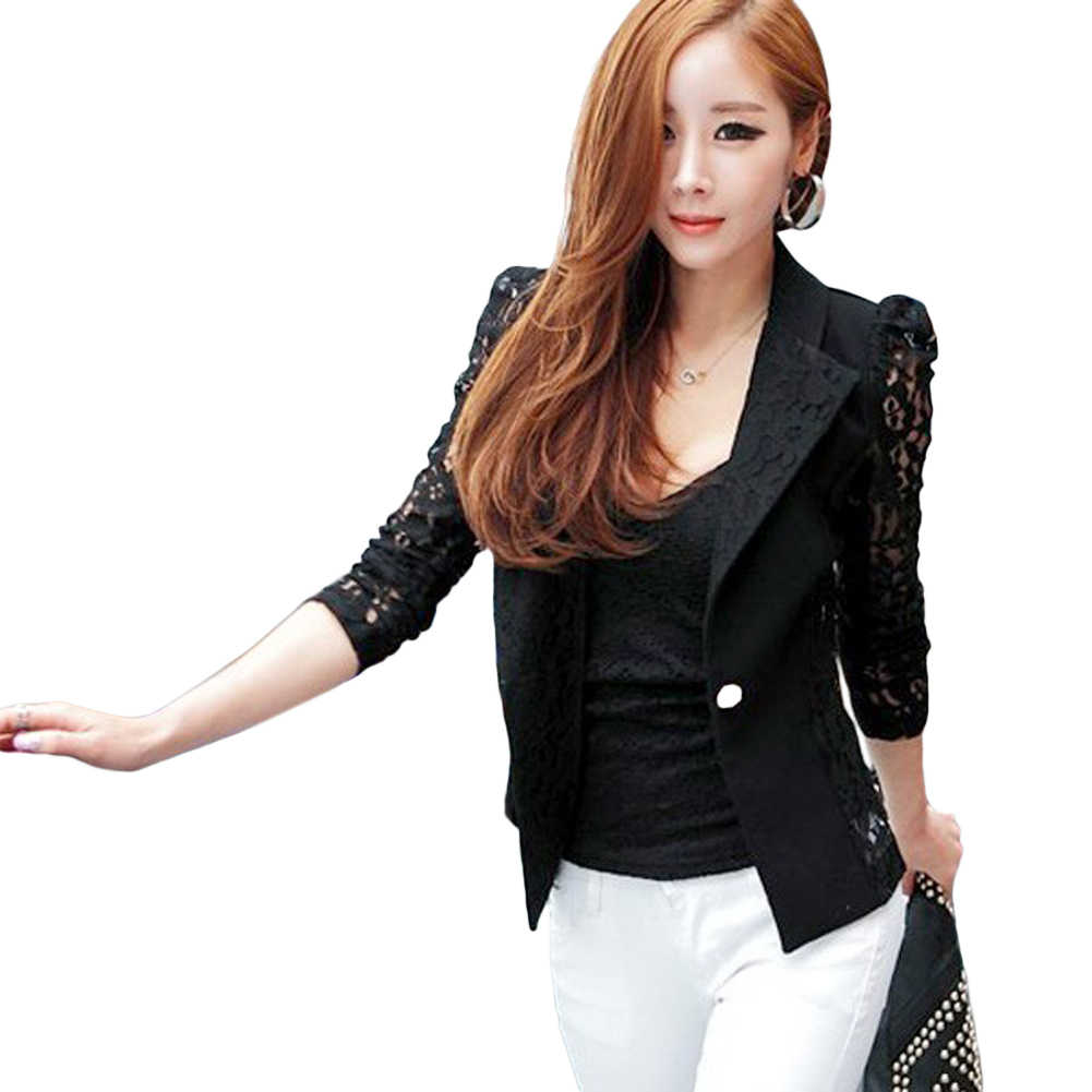 37f88d1e1382 Detail Feedback Questions about Korean Women Blazer Jacket Lace ...