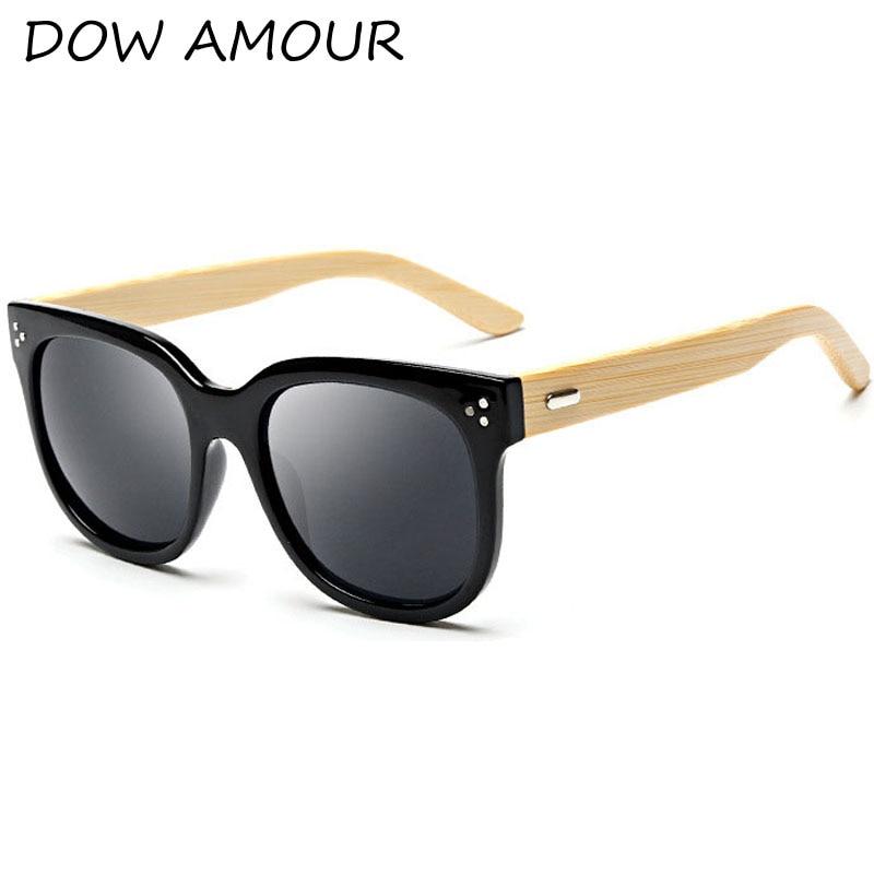 f4ef4c282a9f8 2017 bambu templos óculos de sol de madeira óculos de sol Dos Homens de  bambu masculino senhora UV400 Mulheres óculos espelho Anti-Reflexo