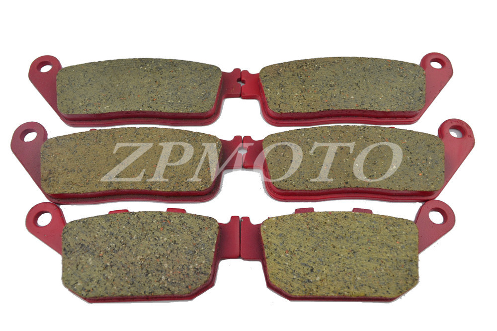 Front+Rear CBR400 NC23 NC29 CBR250 NC22 CARBON CERAMIC ROAD BRAKE PADS High-Quality brake pads ceramic for front rear honda cbr 400 rr nc29 gull arm 1990 1994 oem new high quality zpmoto