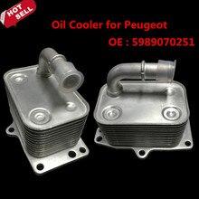 Хорошая производительность Масляный Радиатор для Peugeot 407 607 #5989070251 автомобилей для укладки