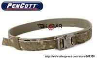TMC Hard 1.5 Shooter Belt Military Tactical Belt PenCott BadLands Nylon Tactical Belt+Free shipping(SKU12050736)