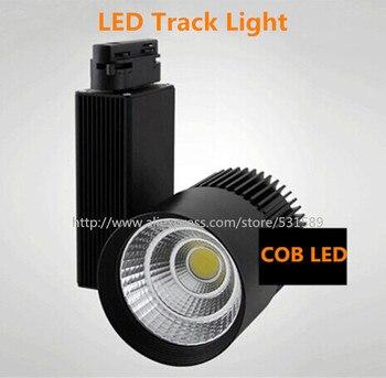 DHL10PCS LED трек свет 20 Вт COB рельсовый свет Прожектор Лампа заменить 110 в 120 в 220 в 230 в 240 В теплый/холодный/натуральный белый