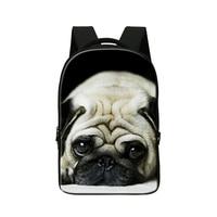 2015 Dog 3D Printing Laptop Computer Bag Lady Bag Easy Travel Bag Women S Bag Traveling