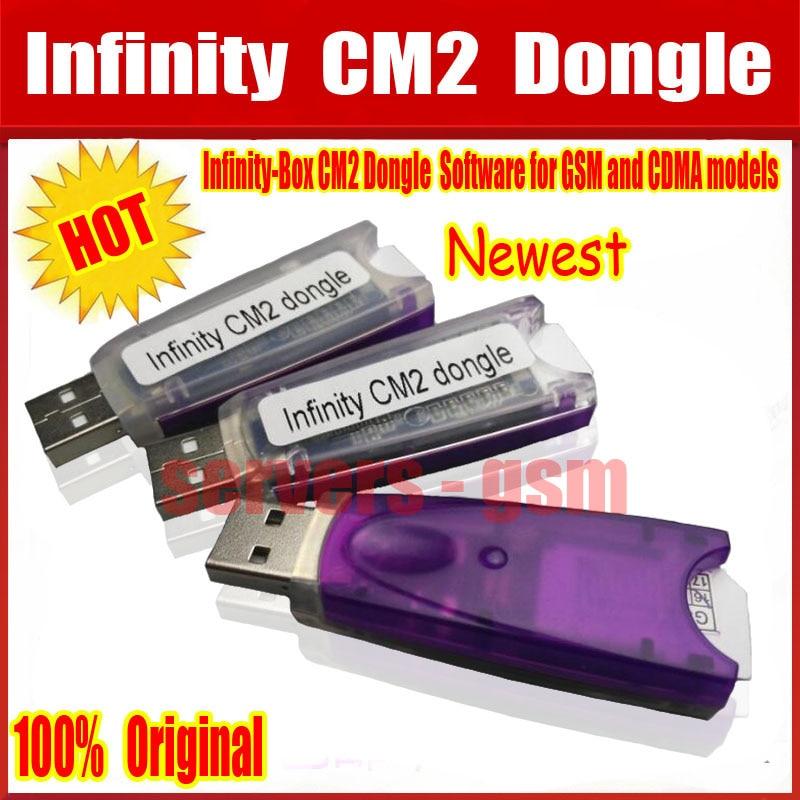 100% Original nuevo infinito-Box Dongle infinito CM2 caja Dongle para GSM y CDMA teléfonos agente de China envío gratuito