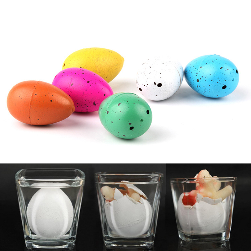 New Arrival 20 Pcs Water Hatching Growing Dinosaur Dino Eggs Add Magic Incubation Cute Children Kids Toy Christmas Gift