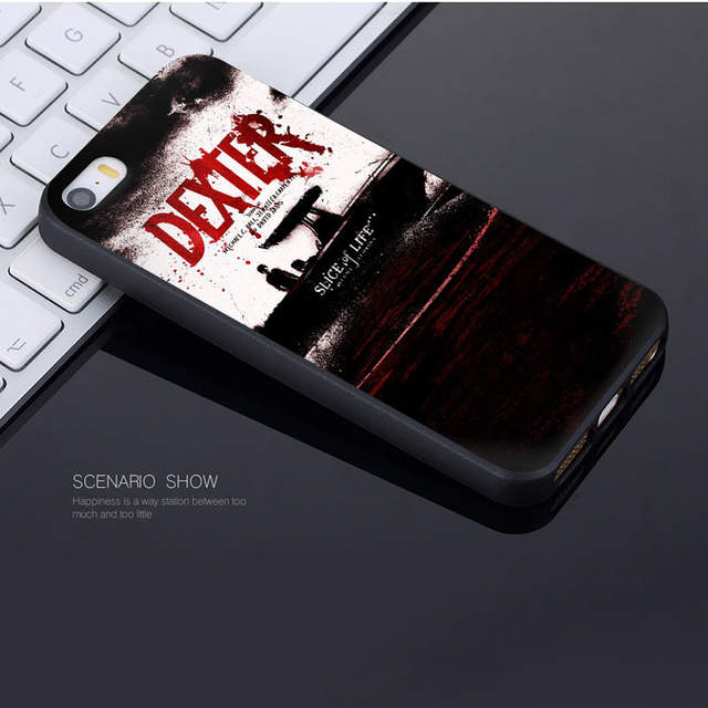 Placeholder MaiYaCa Dexter Wallpaper New Personalized Print Phone  Accessories Case For Apple IPhone 8 7 6 6S