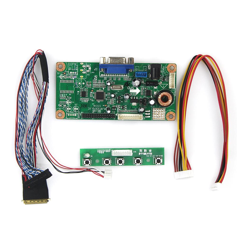 M.RT2270 LCD/LED Controller Driver Board(VGA) For B089AW01 V.1   LVDS Monitor Reuse Laptop 1024x600