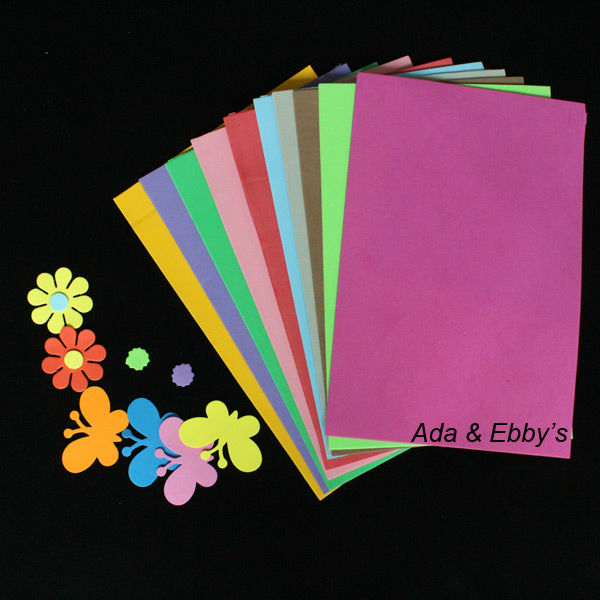 Free shipping eva foam diy art paper craft for diy gifts for Foam sheet christmas crafts