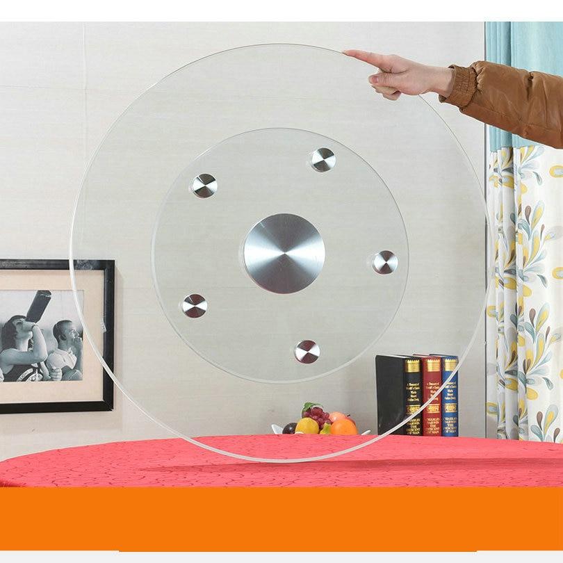 Möbel Hardware Heimwerker Diskret Hq Gl02 Upgrade Mehr Stabile Doppel Schicht Gehärtetem Glas Lazy Susan Glas Esstisch Top Plattenspieler Schwenk Platte Online Rabatt
