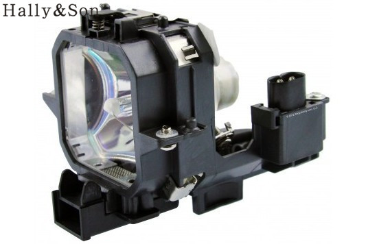 Hally&Son Free shipping ELPLP27 projector lamp with housing,fit for EMP-54/EMP-74/Powerlite54/Powerlite74,MOQ:1PC