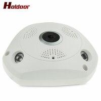 Newest Plug And Play Mini VR IP Camera Wireless 960P HD 360 Degree Panoramic Network CCTV