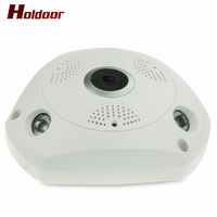Newest Plug And Play Mini VR IP Camera Wireless 960P HD 360 Degree Panoramic Network CCTV