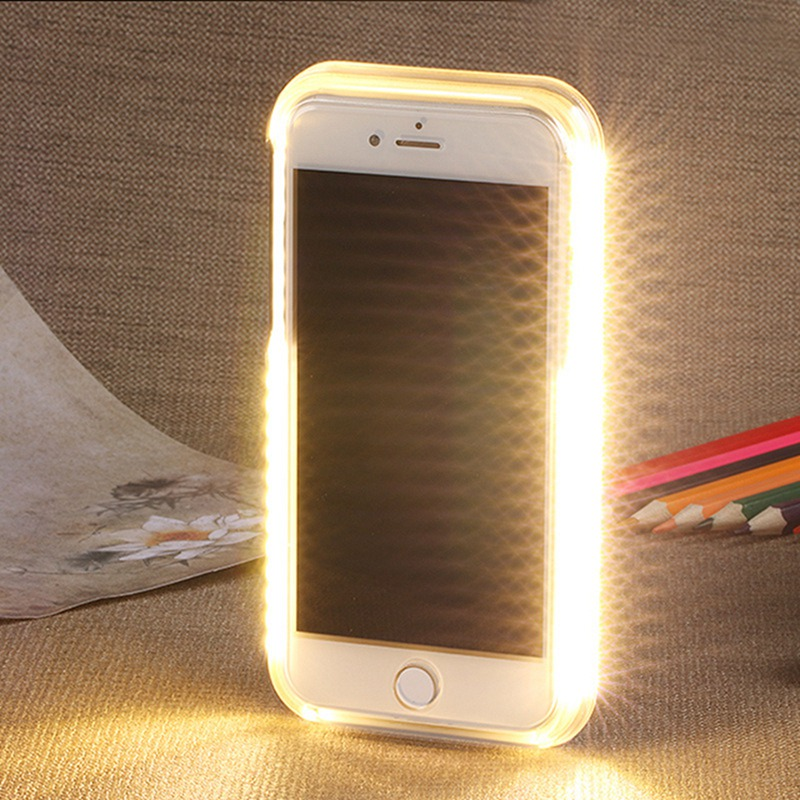 Selfie Light Phone case for iphone 6 6s 7 8 plus for iphone XS Max XR