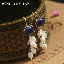 Женские серьги подвески wing yuk tak модные корейские этнические