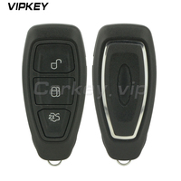 Remotekey KR55WK48801 Remote Smart Car Key 3 Button 433Mhz For Ford Focus Fiesta Kuga 2011 2012