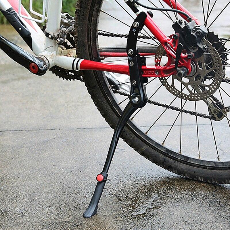 מתכוונן אופניים Kickstand אלומיניום אופני צד בעל דוכן חניה רגל עבור Giant כביש אופניים חלק