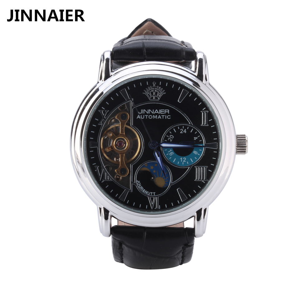 Mens watches automatic self wind mechanical watch men