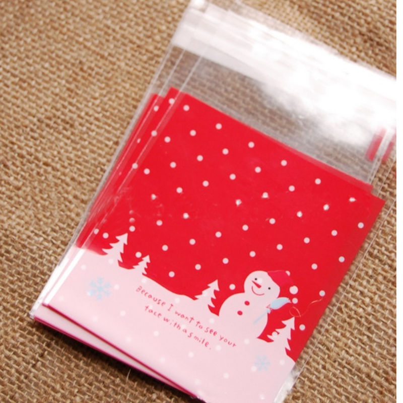 Sales sets red christmas snowman candy gift package