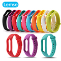 Colorful Silicone Strap For Xiaomi Mi Band 2 Strapsl Bracelet Smart Band Replace Accessories Mi Band 2 Wristband