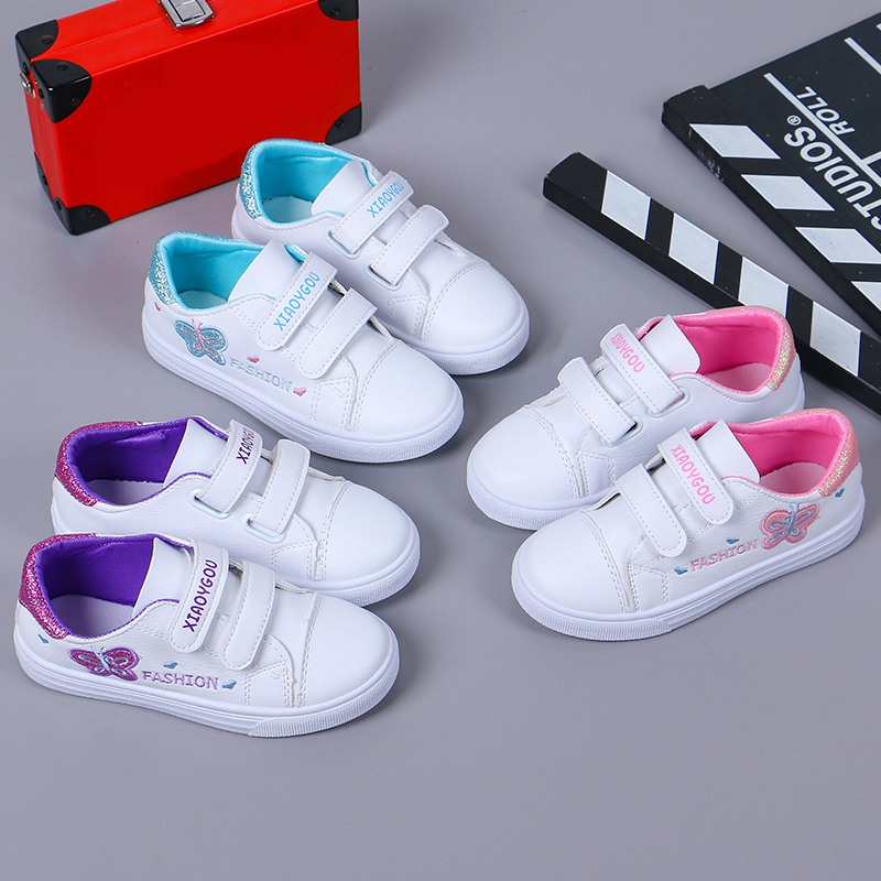 New Sport Children Shoes Kids Girls Sneakers Spring Autumn Letter Pattern Casual Girls Shoes Running Shoe For Kids Sneakers     - title=