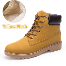 2018 Suede leather man boot Winter men boots ankle shoes war