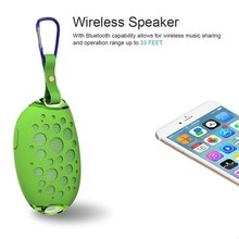 Mango Mini Wireless Bluetooth Speaker Outdoor Stereo Portable Speaker With Mic Hook IP54 Waterproof speaker can Handsfree Call teal s9 outdoor waterproof bluetooth speaker portable wireless handsfree mini stereo speaker power bank with 4000mah battery
