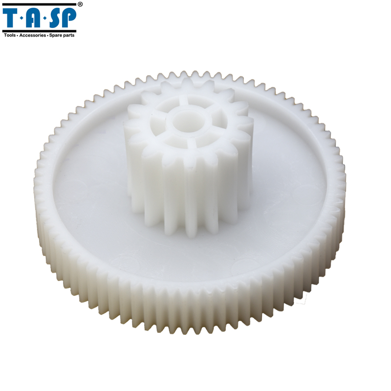 2pcs Gears Spare Parts For Meat Grinder Plastic Mincer Wheel For Polaris SCARLETT SUPRA Moulinex VERLONI  Shivaki  ROTEX MAXWEll