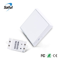 Saful 433Mhz smart touch Wireless Switch Light RF Remote Control AC Light Wireless Wall Touch Switch