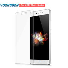 VOONGSON Tempered Glass Screen Protector For ZTE Blade X3 V7 X7 X9 L2 S6 For ZTE Nubia Z7 Z9 Max Mini Glass Explosion-proof Film чехол для zte blade x7 skinbox lux aw белый