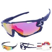 SALE 5 Lens Mens Polarized Brand JBR Cycling Glasses Mountain Bike Goggles Sport MTB Eyewear Bicycle