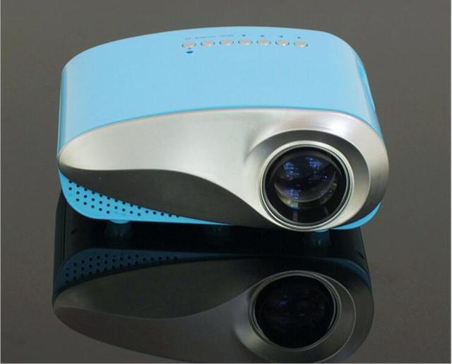 Multi-media Mini Portable LED Projection Micro Home Theater Projector HDMI VGA USB AV TV Entertain RD-802BLUE